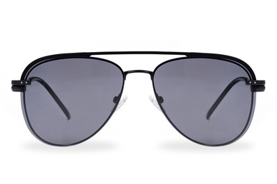 Timor Black okulary CLIP-ON  aviator unisex